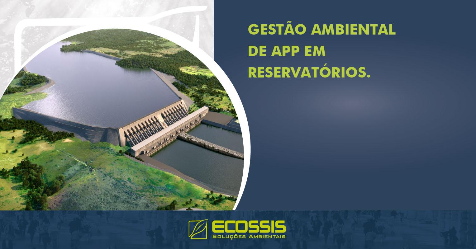 Gestão Ambiental de APP em Reservatórios