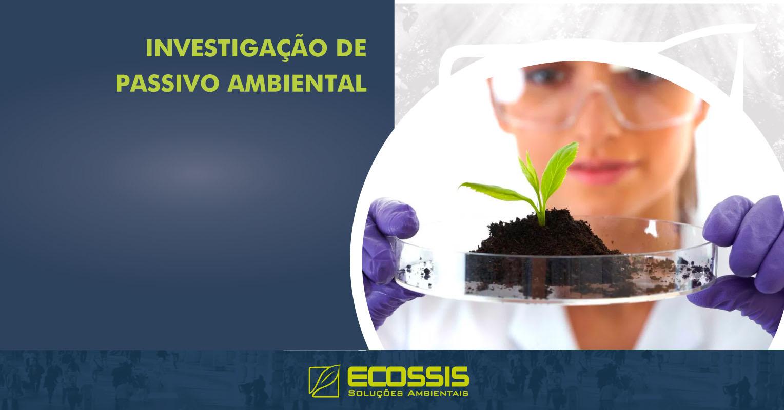 Investigação de Passivo Ambiental