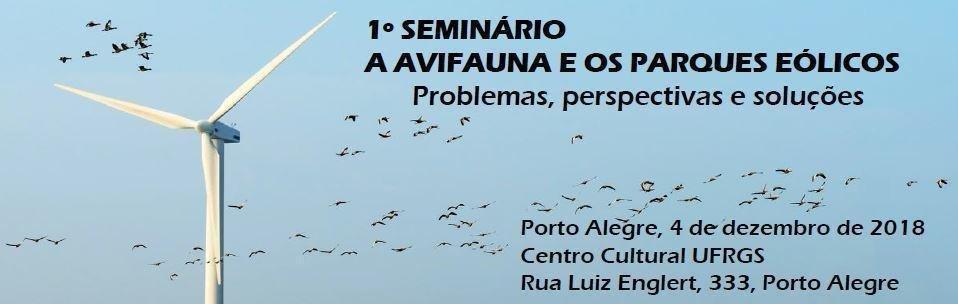 seminário de avifauna e parques eólicos