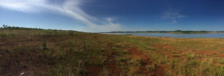 vista geral sitio Pré-colonial Muzambo