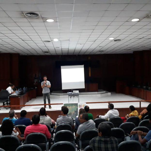 Audiência Pública sobre Barragem de Sta. Helena.