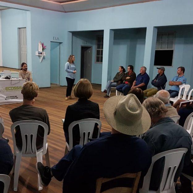 Reunião sobre PACUERA da UHE Barra do Rio Chapéu - ELETROSUL.