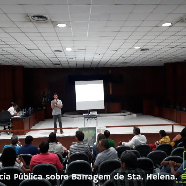 Audiência Pública dobre Barragem de Sta. Helena.
