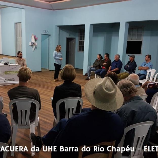 Apresentação PACUERA da UHE Barra do Rio Chapéu (ELETROSUL).